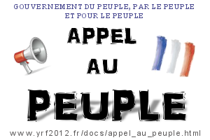 Appel au Peuple